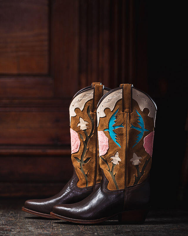 botas country mujer